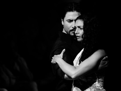 Laura Boucaya y Diego Amado