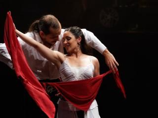 Sabrina Llanos y Rocco Sedano, 25 ans des Trottoirs au Dock des Suds, le 5 juillet 2014